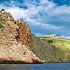 landscape Balaklava bay by Iuliia Dumnova