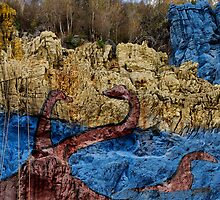 The mural of prehistory, Vinales Valley, Cuba by buttonpresser