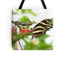 Zebra Longwing Heliconius charithonia Tote Bag