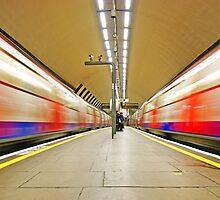 London Underground Mirror - Clapham underground station by DavidGutierrez