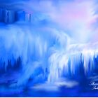 ICE FALLS                                                           acrylic by Sherri     Nicholas