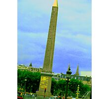 The Obelisk Photographic Print