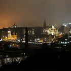 Edinburgh at Night by Kevin Finlay