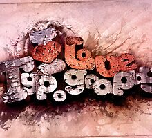 I Love Typography by Uey333