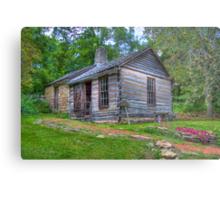 1830 Log Cabin Metal Print
