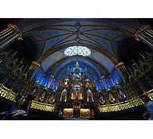 La Basilique Notre - Dame de Montreal Photographic Print