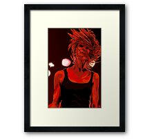 Headbanger Framed Print
