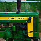 John Deere 420 by ericseyes
