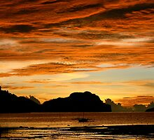 El Nido Sunset by MeganPreece