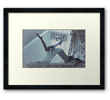 Faded Reality Framed Print