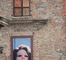 A Wall in Turin, Italy by Indrani Ghose