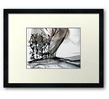 falling leaf #4 Framed Print