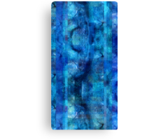 Abstract Composition With Ghosted Trees Canvas Print