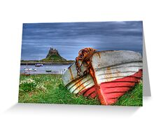 The Castle & The Boat Greeting Card