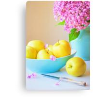 Yellow Apples Canvas Print
