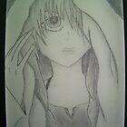 Anime drawing by Charli McDonald
