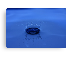 The crown of water Canvas Print