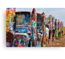 Cadillac Ranch 3 Canvas Print