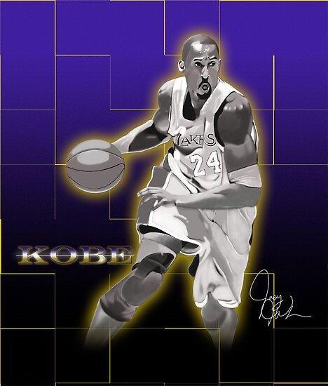Kobe Bryant - Laker Legend by artmanfya