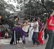 Quezon Memorial Circle activity: taekwondo 15 by walterericsy