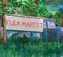 flea market by Leeanne Middleton
