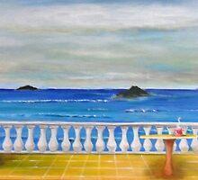 Meditteranean Morning by Melissa Pinner