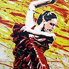 SPANISH DANCER by Tom Deacon