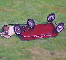 Crash of the Radio Flyer. by Gene Ritchhart