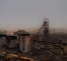 Old mine Broken Hill by athex