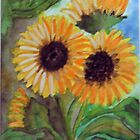 SUNFLOWERS by Heidi Mooney-Hill