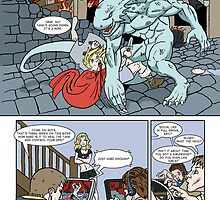 Monster Geeks page 1  by Sturstein