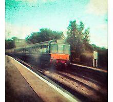 Vintage Train Photographic Print