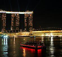 Marina Bay Sands by Vivek Bakshi