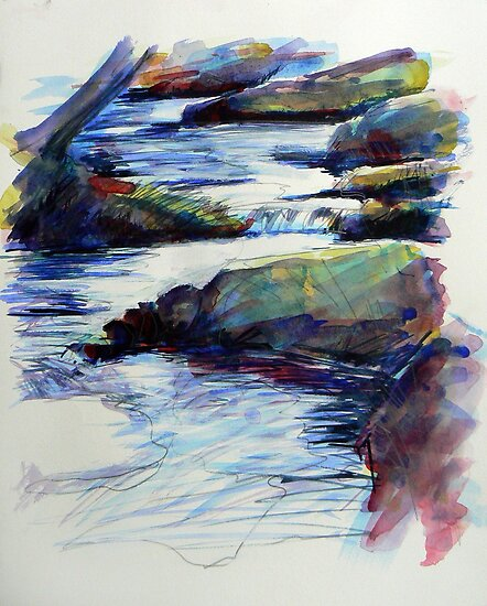 Study of water 2 by Richard Sunderland