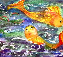 Batik Fish by Rosie Brown