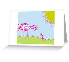 Does the Early Bird gets the Worm? Greeting Card