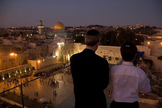 A Stunning Evening in Jerusalem by Rachel  Chaikof
