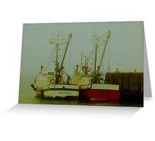 Fogbound Greeting Card