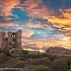 scarborough castle by Vincent Lamb