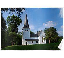 Bunte Kirche Poster