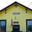 Essex Railroad Station, Valley Railroad, Connecticut - USA by Jack McCabe