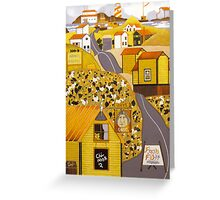 """""""Arv's Grocery"""" greeting card Greeting Card"""