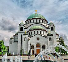 St Sava Temple,Hram Svetog Save 1 by robertpatrick
