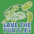 Save the Sea Turtles by evisionarts