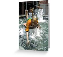 Looking For Coin Greeting Card