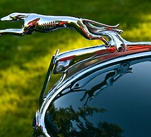 Ford V8 Hood Ornament by Jeffrey  Sinnock