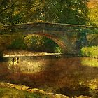 A Country Bridge by Catherine Hamilton-Veal  ©