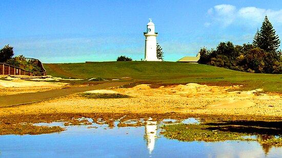 Macquarie Lighthouse Sydney Australia by Raoul Isidro