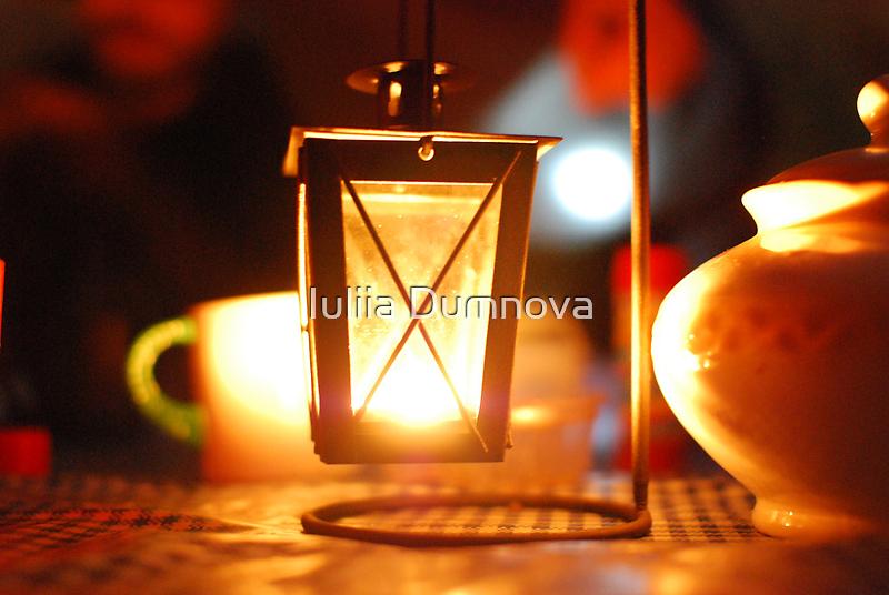 flashlight by Iuliia Dumnova