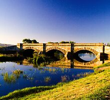 Ross Bridge, Tasmania, in portrait by Elana Bailey